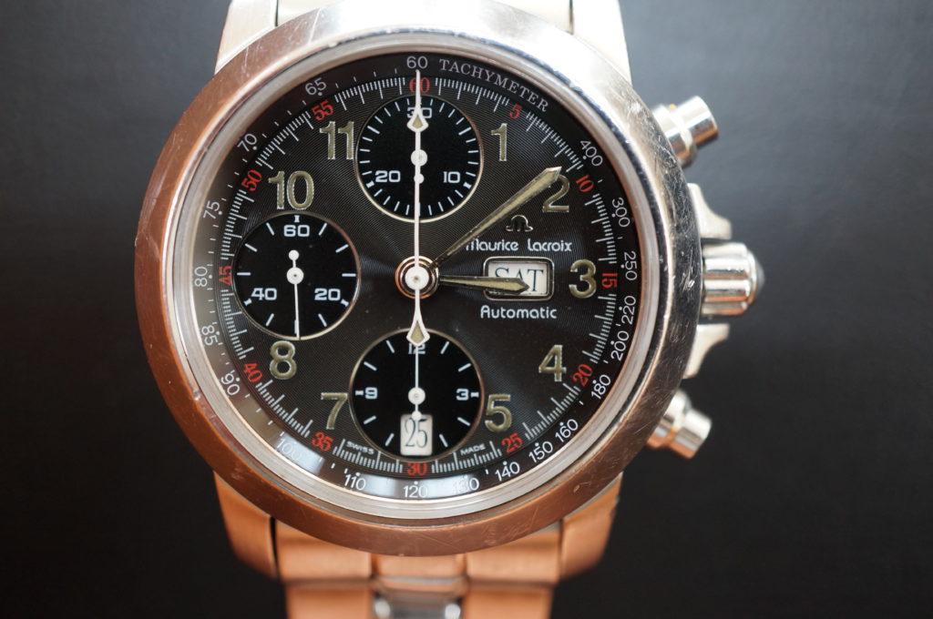 No.2080  maurice lacroix(モーリス ラクロア) 自動巻き 腕時計を修理しました