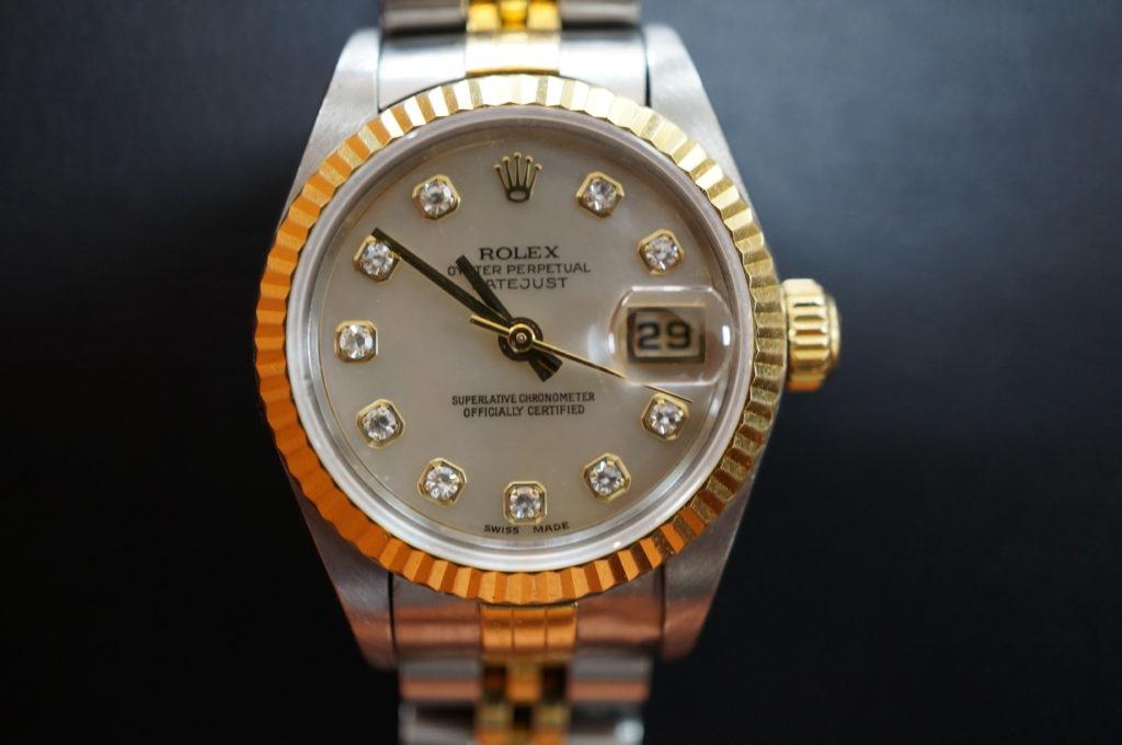 No.2101  ROLEX  (ロレックス ) 自動巻き腕時計を修理しました