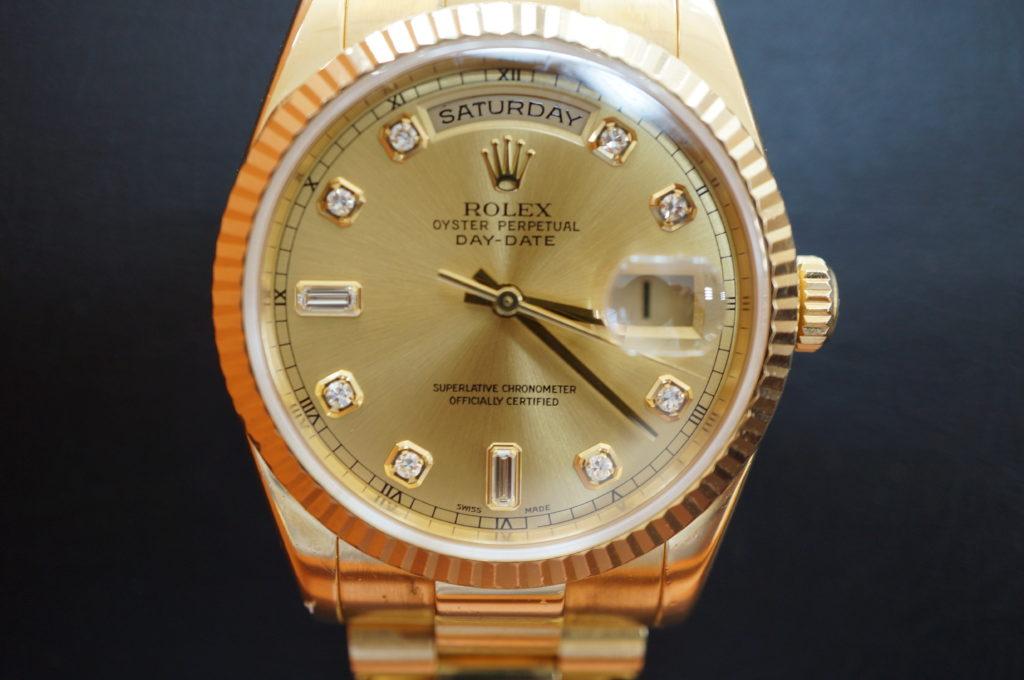 No.2085  ROLEX  (ロレックス ) 自動巻き腕時計を修理しました