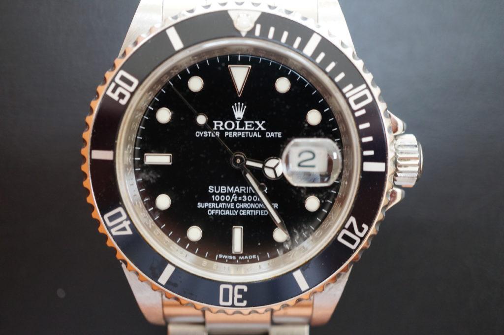 No.2083  ROLEX  (ロレックス ) 自動巻き腕時計を修理しました