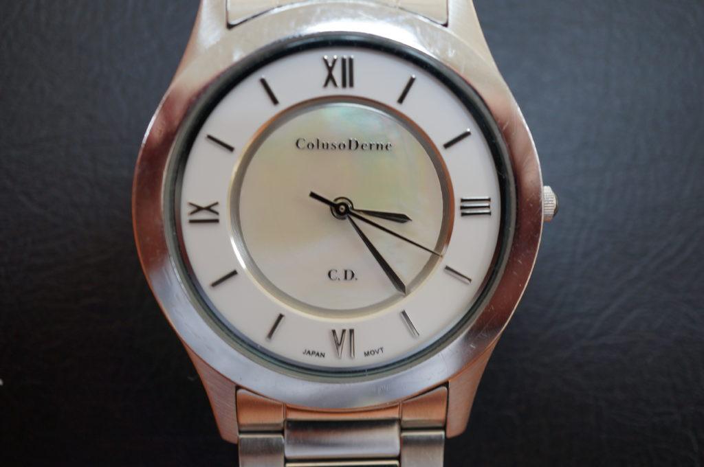 No.2086  Coluso Derne(コルソデルーネ)クォーツ式 腕時計を修理しました