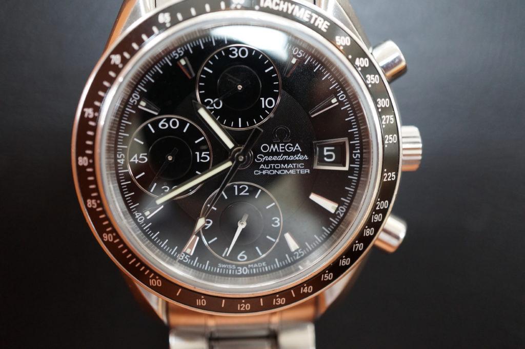 No.2068  OMEGA Speedmaster (オメガスピードマスター) 自動巻き 腕時計を修理しました