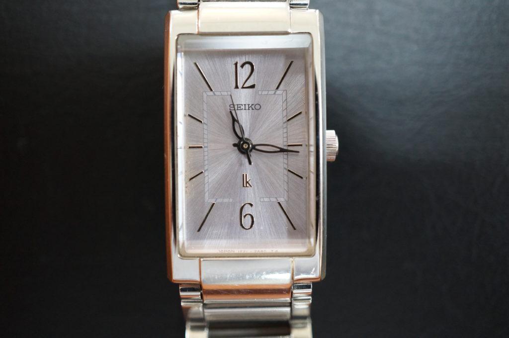 No.2087  SEIKO LUKIA (ルキア ) クオーツ式 腕時計を修理しました