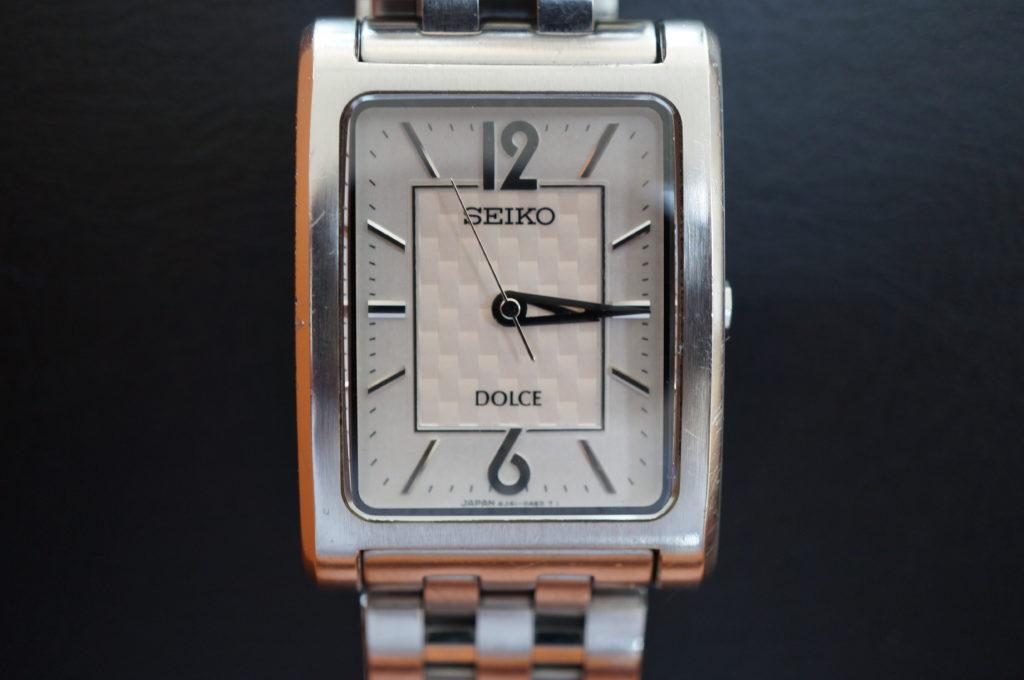 No.2089  SEIKO DULCE (ドルチェ ) クオーツ式 腕時計を修理しました