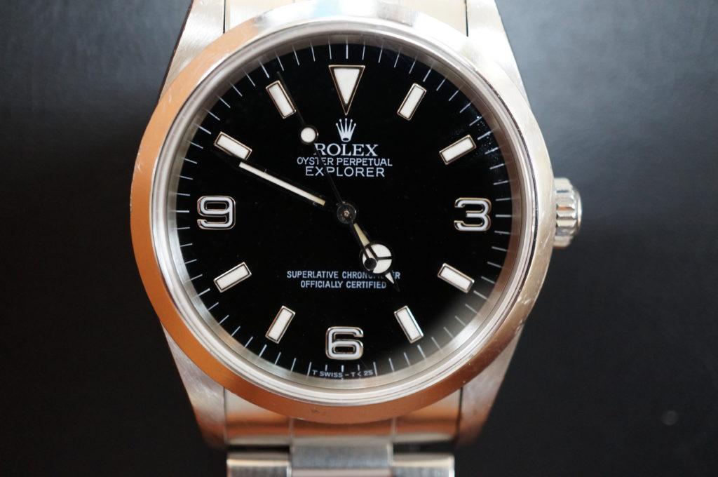 No.2102  ROLEX  (ロレックス ) 自動巻き腕時計を修理しました