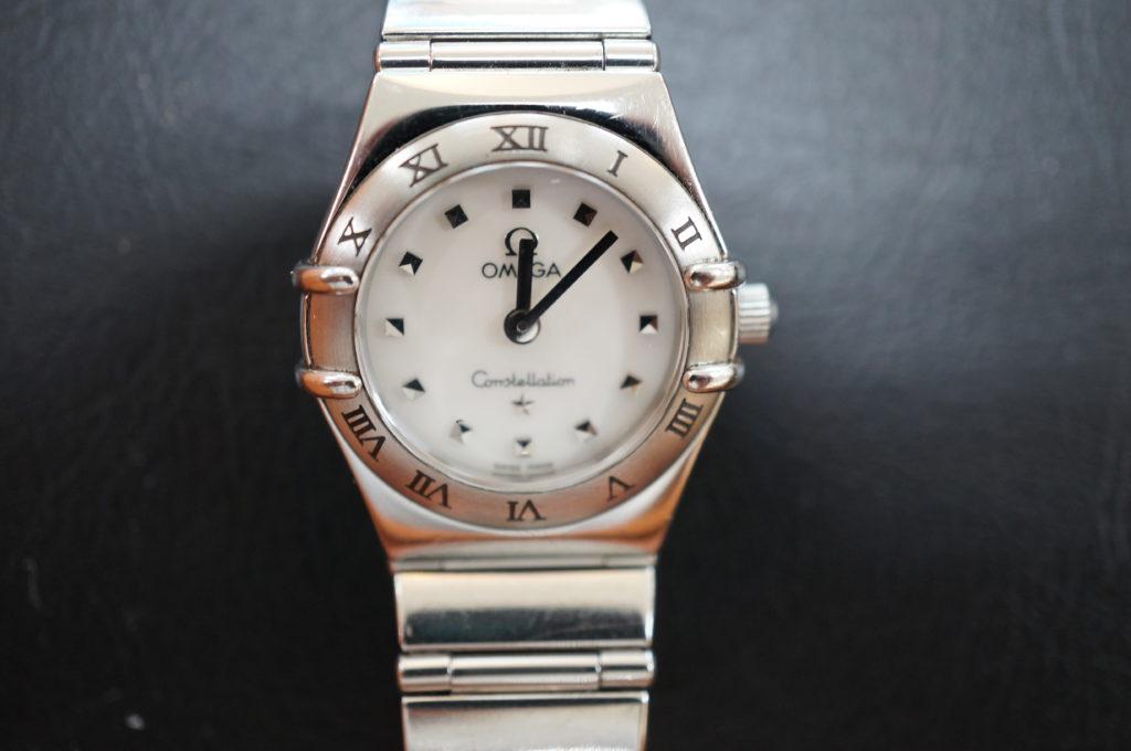 No.2124  OMEGA constellation (オメガ コンステーション) クォーツ式 腕時計を修理しました