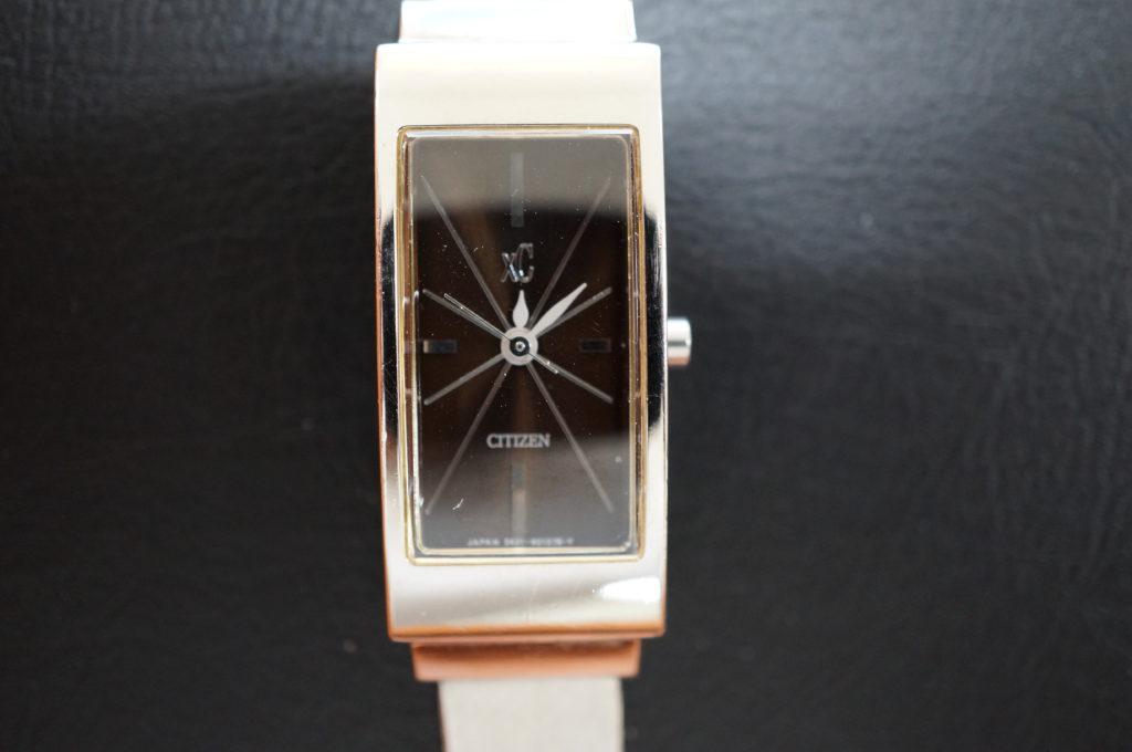No.2125  CITIZEN XC (クロスシー) クォーツ式 腕時計を修理しました