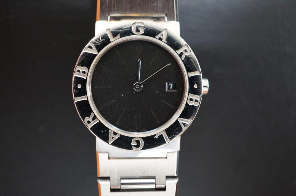 No.2122  BVLGARI  (ブルガリ ) クォーツ式腕時計を修理しました