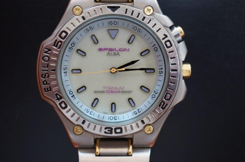 No.2123  SEIKO  ALBA(アルバ) クォーツ式 腕時計を修理しました