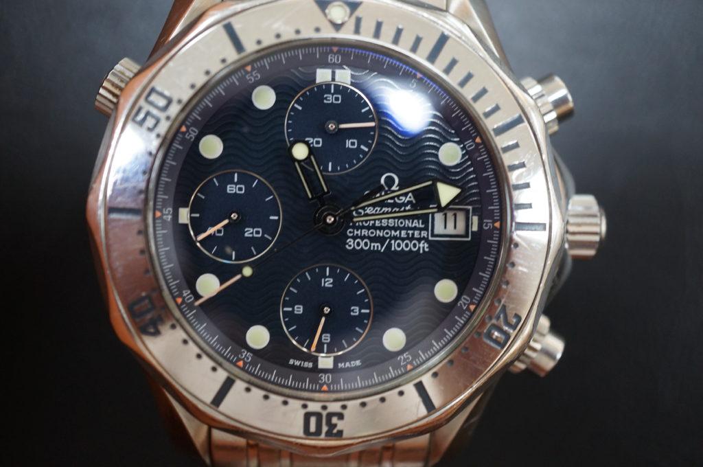 No.2107  OMEGA Seamaster (オメガ シーマスター) 自動巻き腕時計を修理しました