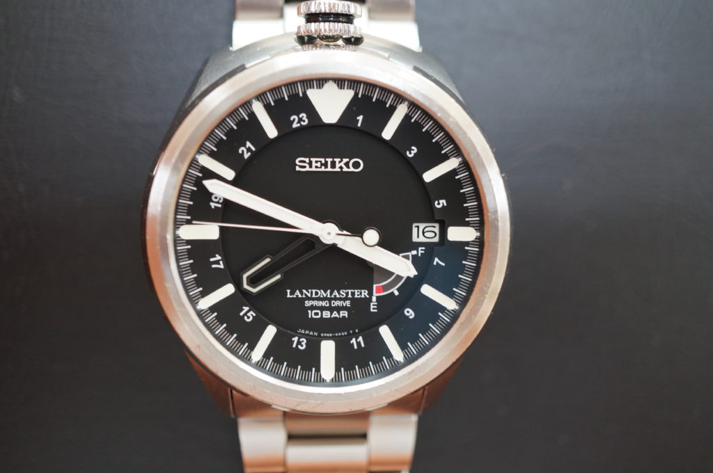 No.2106  SEIKO  LANDMASTER   SPRING DRIVE 腕時計を修理しました