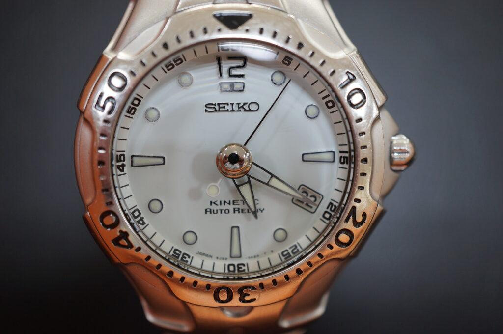 No.2231  SEIKO KINETC (セイコー  ) キネティック式 腕時計を修理しました