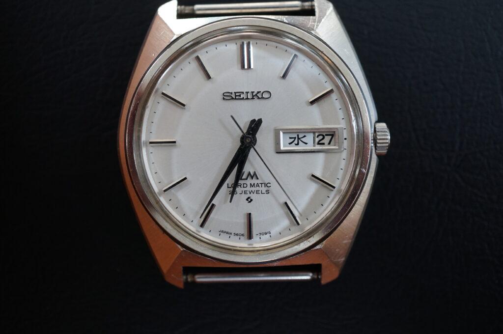 No.2233  SEIKO  (セイコー ) 自動巻き 腕時計を修理しました