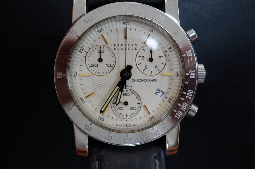 No.2259  BARNEYS NEWYORK (バーニーズニューヨーク) クォーツ式腕時計を修理しました