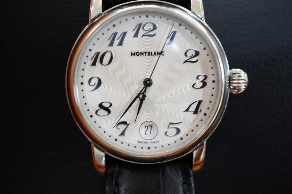 No.2218  MONTBLANC (モンブラン) クォーツ式腕時計を修理しました