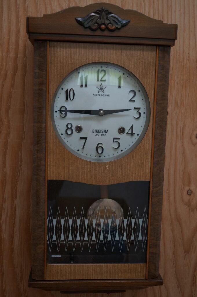 No.2230  SEIKO (セイコー)  ゼンマイ式 掛け時計を修理しました