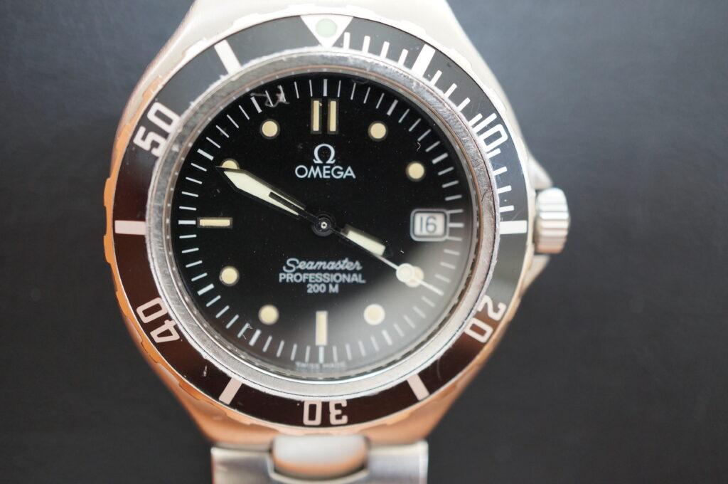No.2258  OMEGA Seamaster (オメガ シーマスター) クォーツ式腕時計を修理しました