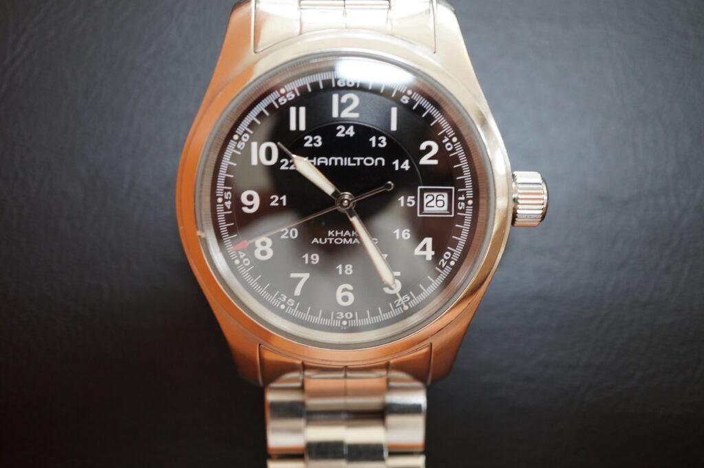 No.2257  HAMILTON  (ハミルトン ) 自動巻き腕時計を修理しました