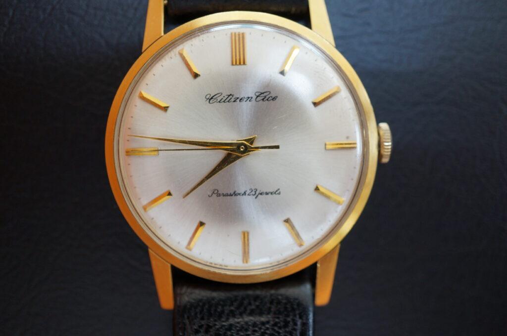 No.2253  CITIZEN  (シチズン ) 手巻式 腕時計を修理しました