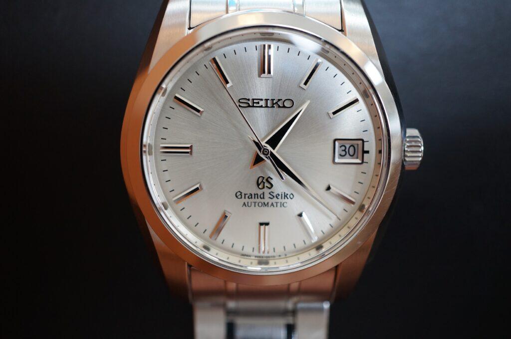No.2255  SEIKO GS  (グランドセイコー ) 自動巻き 腕時計を修理しました