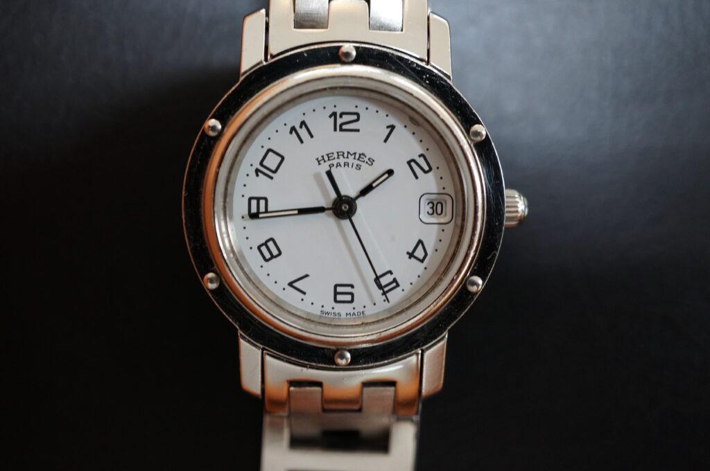 No.2235  HERMES (エルメス ) クォーツ式腕時計を修理しました