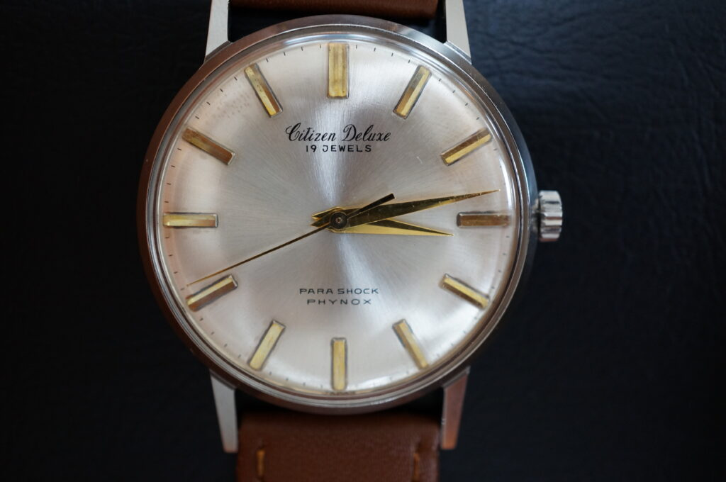 No.2234  CITIZEN  (シチズン ) 手巻式 腕時計を修理しました