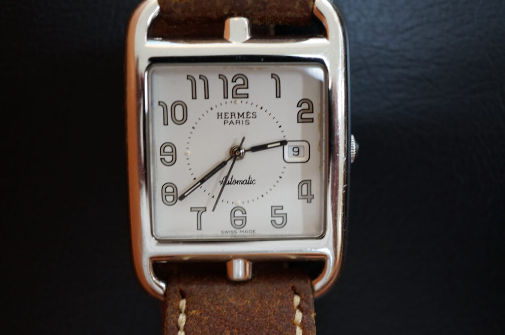 No.2291  HERMES  (エルメス ) クォーツ式腕時計を修理しました