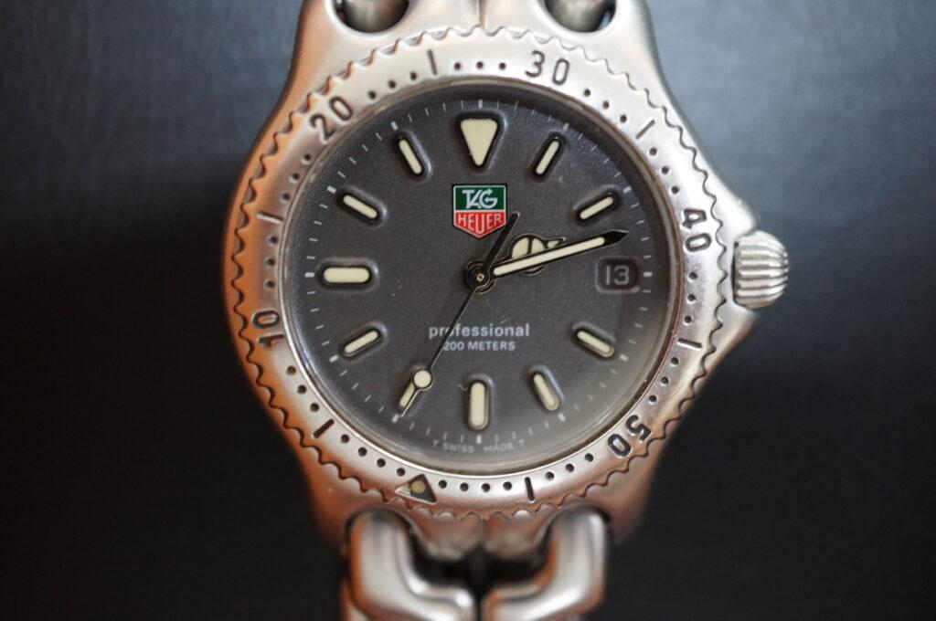 No.2295  TAG HEUER(タグホイヤー)クォーツ式 腕時計を修理しました