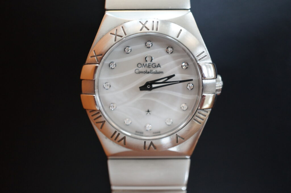 No.2290  OMEGA  (オメガ ) クォーツ式腕時計を修理しました