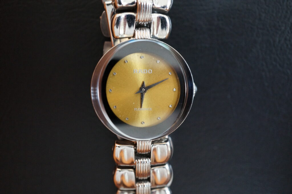 No.2278  RADO  (ラドー ) クォーツ式腕時計を修理しました