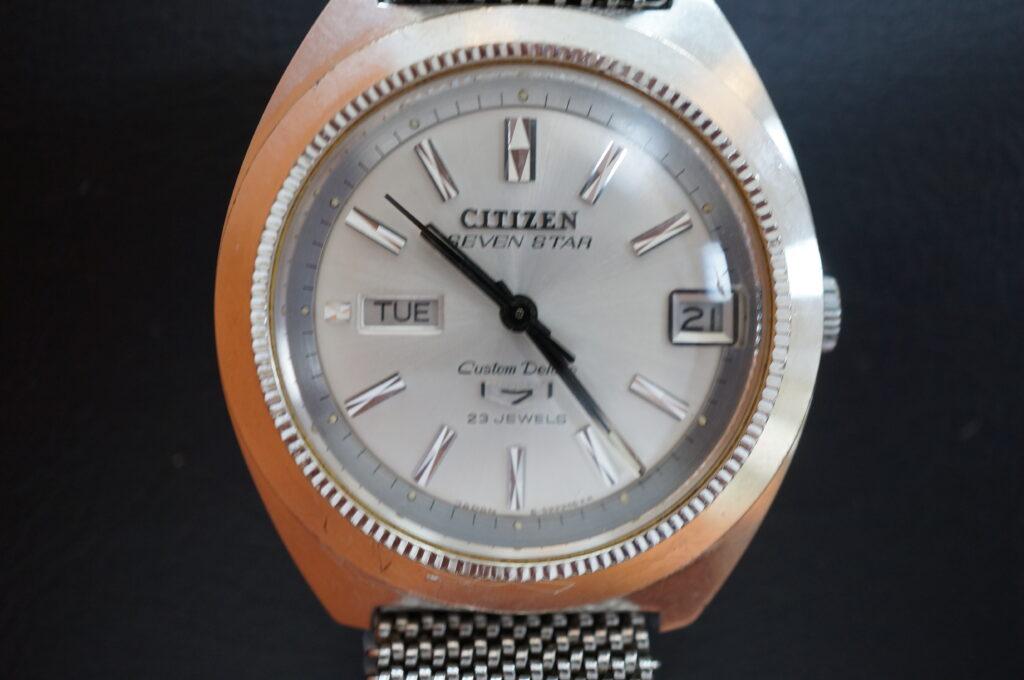 No.2277  CITIZEN  (シチズン ) 自動巻き腕時計を修理しました