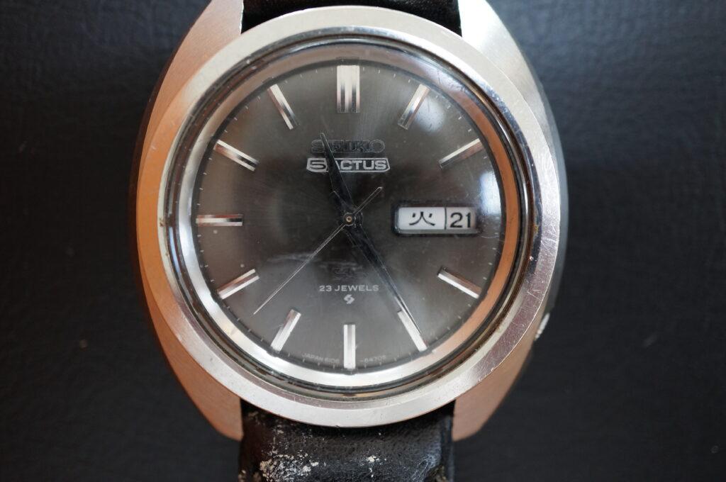 No.2275  SEIKO  (セイコー ) 自動巻 腕時計を修理しました