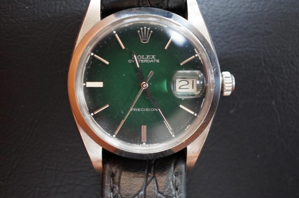 No.2276  ROLEX  (ロレックス ) 自動巻き腕時計を修理しました