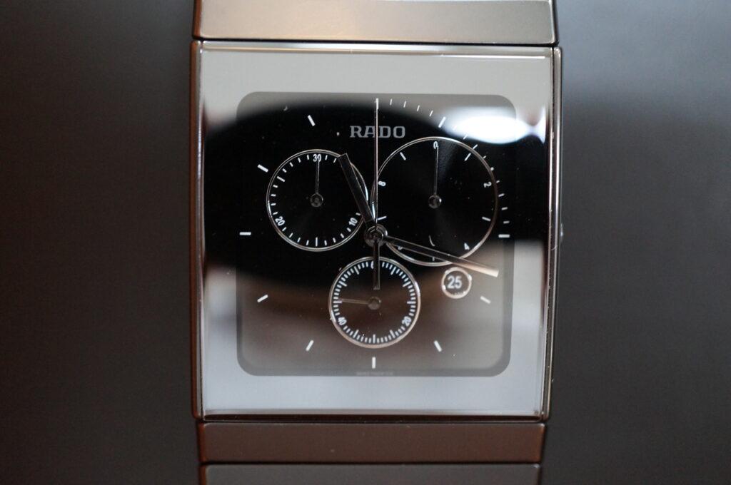 No.2297  RADO  (ラドー ) クォーツ式腕時計を修理しました