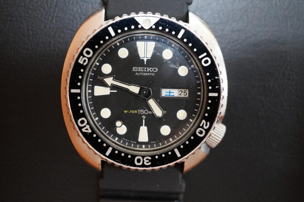 No.2298  SEIKO  (セイコー ) 自動巻き 腕時計を修理しました