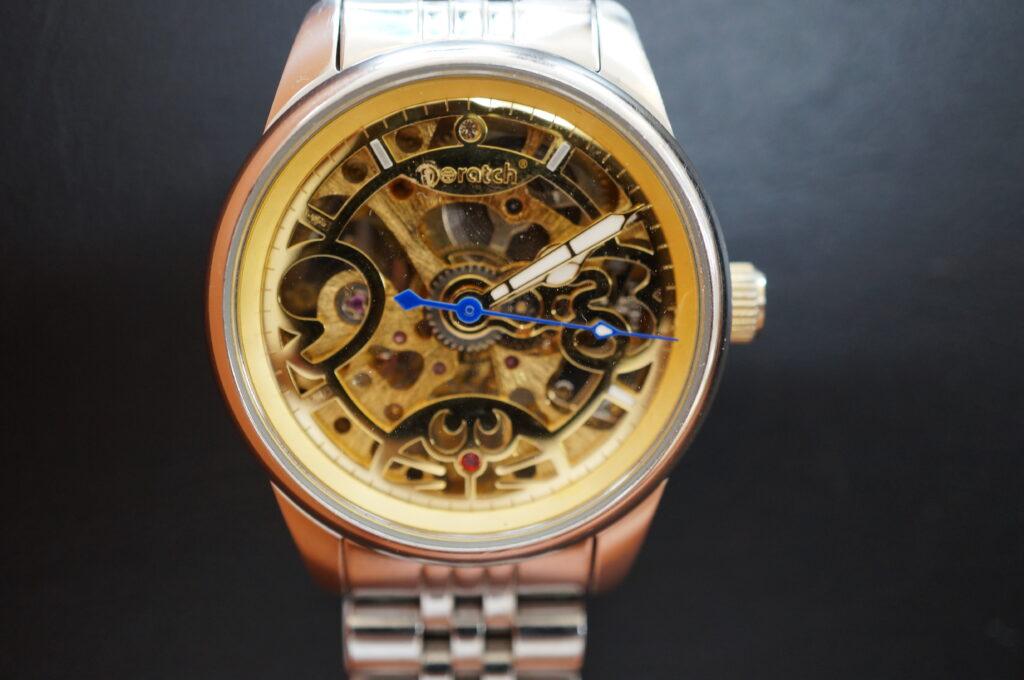 No.2299  Doratch  自動巻き 腕時計を修理しました