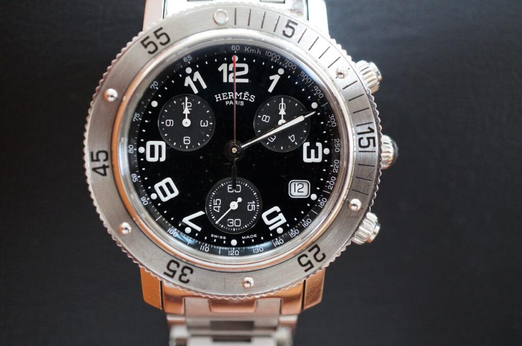 No.2332  HERMES  (エルメス ) クォーツ式腕時計を修理しました
