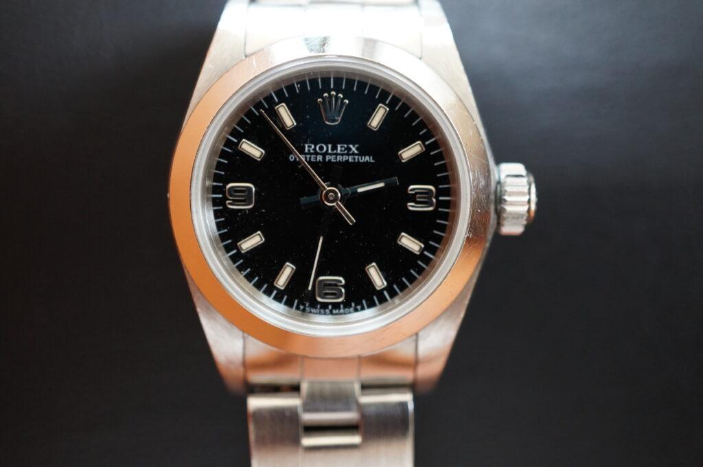 No.2310  ROLEX(ロレックス)自動巻 腕時計を修理しました