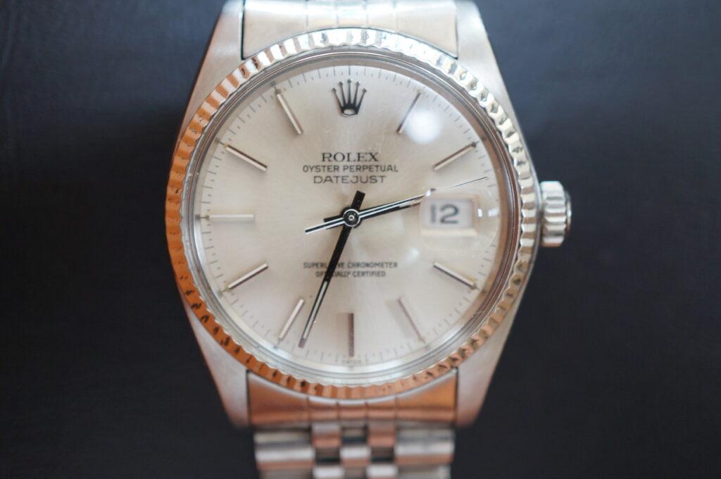No.2317  ROLEX(ロレックス)自動巻 腕時計を修理しました