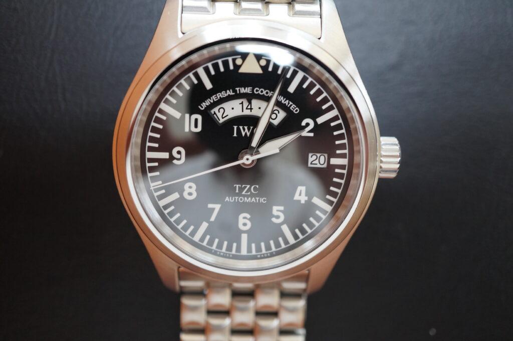 No.2330  IWC (インターナショナル・ウォッチ・カンパニー)自動巻き腕時計を修理しました