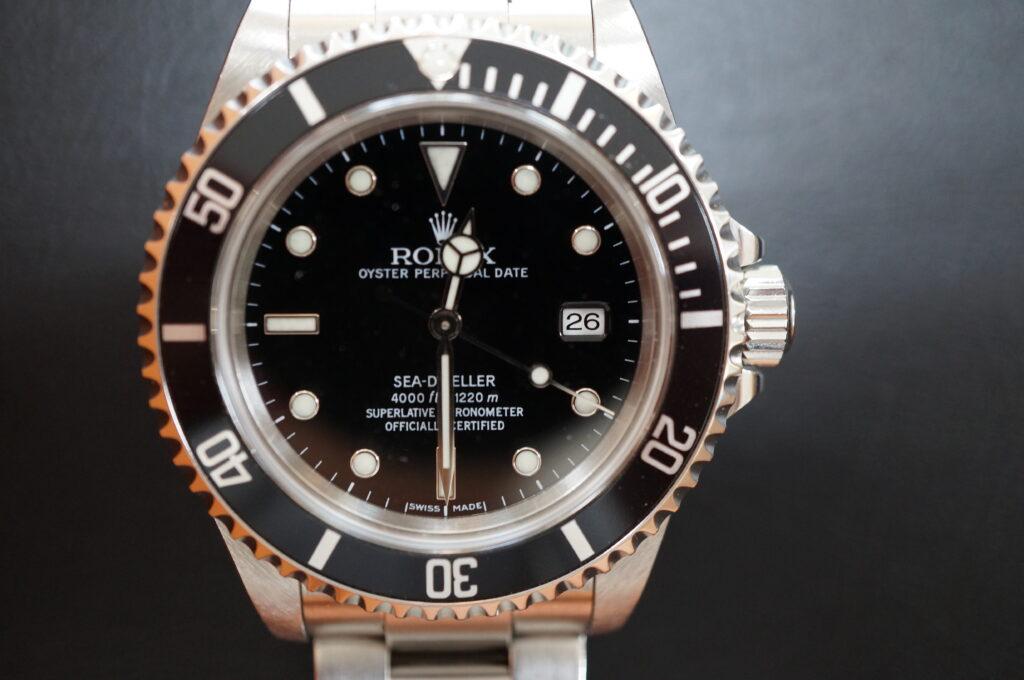 No.2351  ROLEX(ロレックス)自動巻 腕時計を修理しました