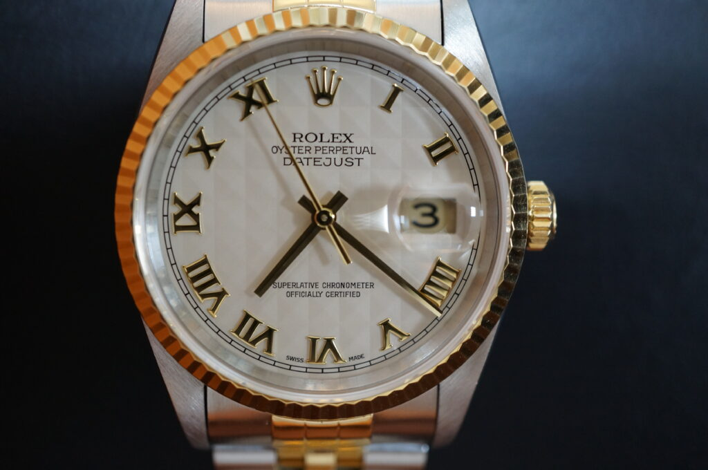 No.2337  ROLEX(ロレックス)自動巻 腕時計を修理しました
