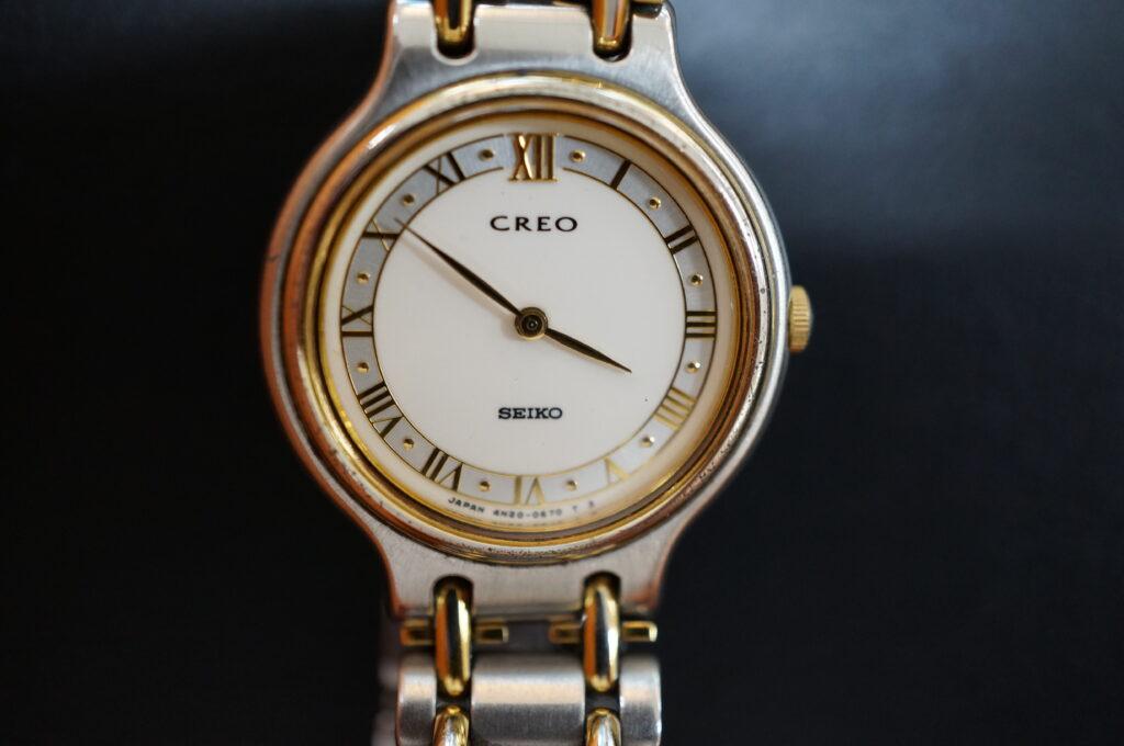 No.2335  CREO クォーツ式腕時計を修理しました