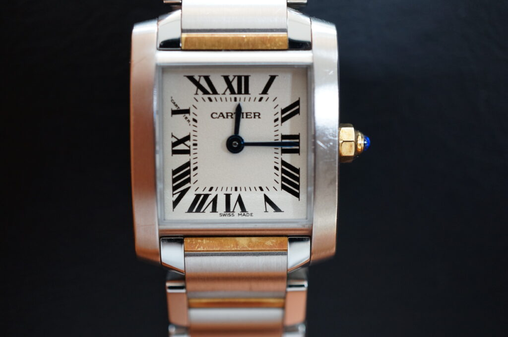 No.2370  CARTER (カルティエ ) 自動巻き腕時計を修理しました