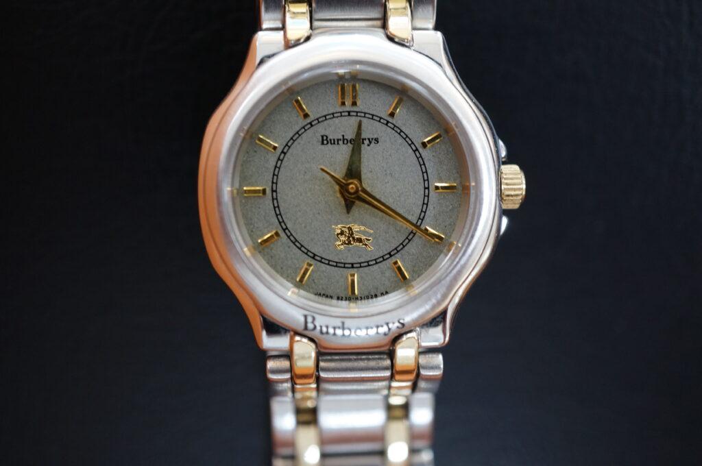 No.2371  バーバリー  (シチズン ) クォーツ式 腕時計を修理しました