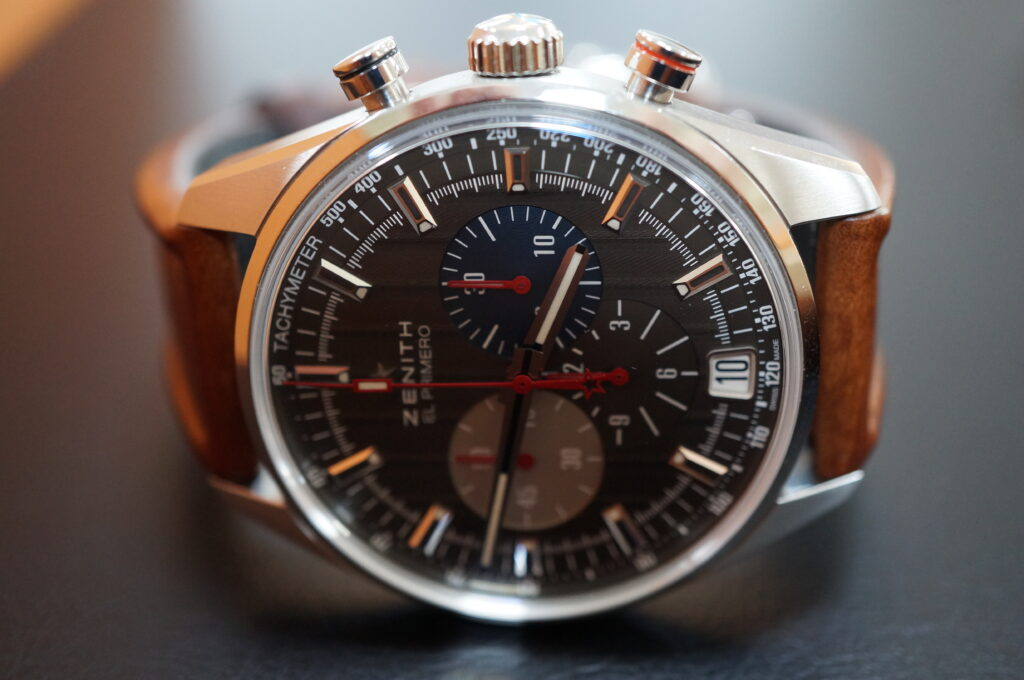 No.2372  ZENITH(ゼニス)自動巻 腕時計を修理しました