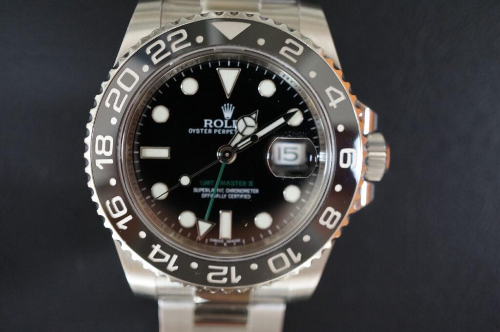 No.2376  ROLEX(ロレックス)自動巻 腕時計を修理しました