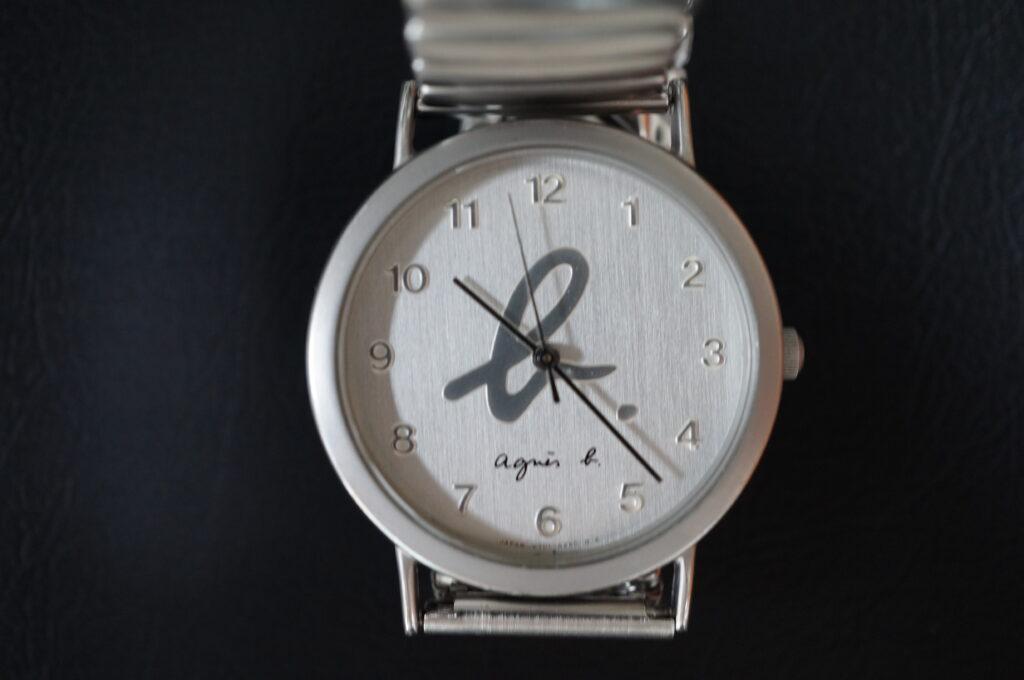 No.2357  アニエスベー クォーツ式 腕時計を修理しました