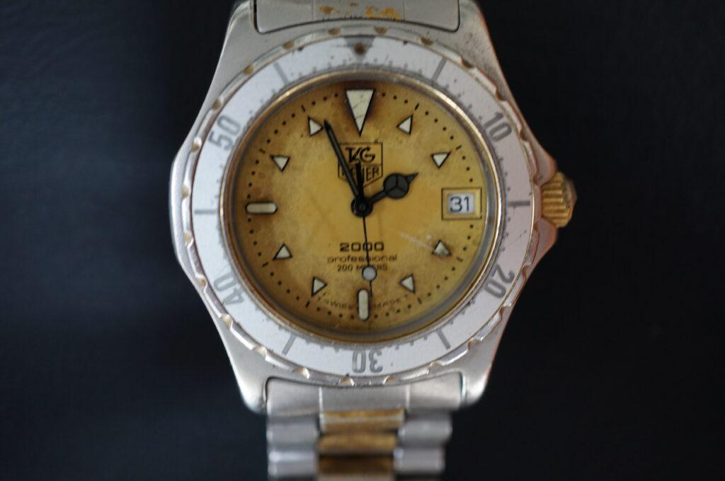 No.2395  TAG HEUER(タグホイヤー)自動巻式 腕時計を修理しました