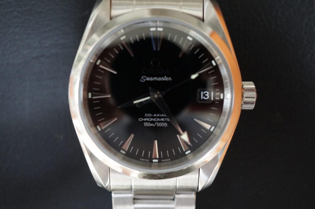 No.2400  OMEGA Seamaster CO-AXIAL (シーマスターコーアクシャル) 自動巻き 腕時計を修理しました